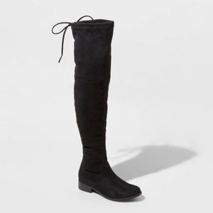 A New Day Sidney Microsuede Over the Knee Boots